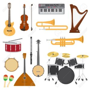 INSTRUMENTOS MUSICALES Y MICROFONOS